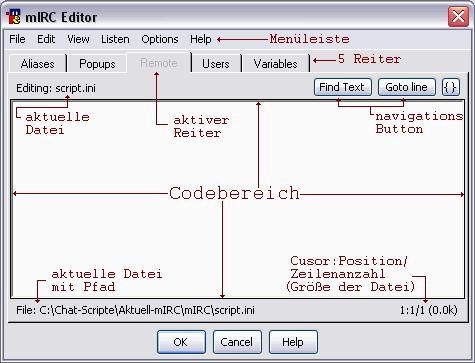 mIRC Editor